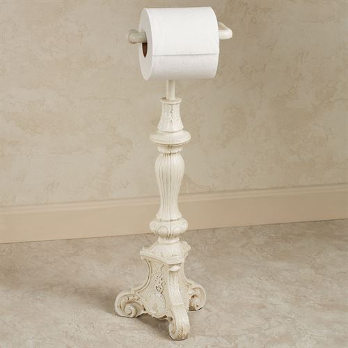 Sabriel Toilet Paper Stand Old World White