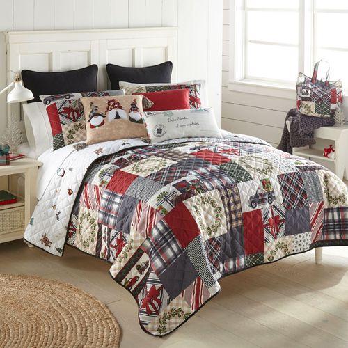 Tis the Season Mini Quilt Set Multi Warm