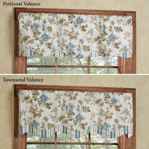 Farrell Light Cream Petticoat Valance 52 x 15