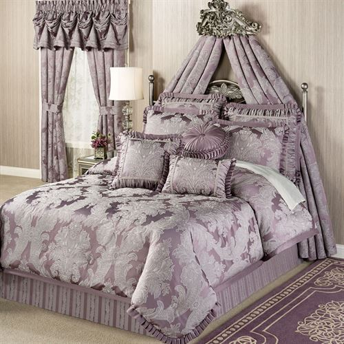 Bedroom Sets Clearance Free Shipping: Ambience Damask Comforter Bedding