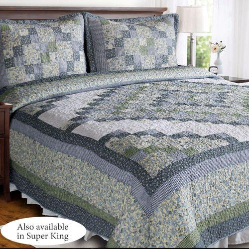 Blue Ridge Valley Patchwork Quilt