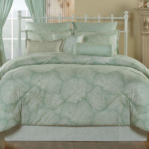 Antigua Comforter Set Aqua Mist