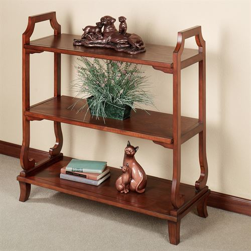 Grant 3 Tier Stand Regal Walnut