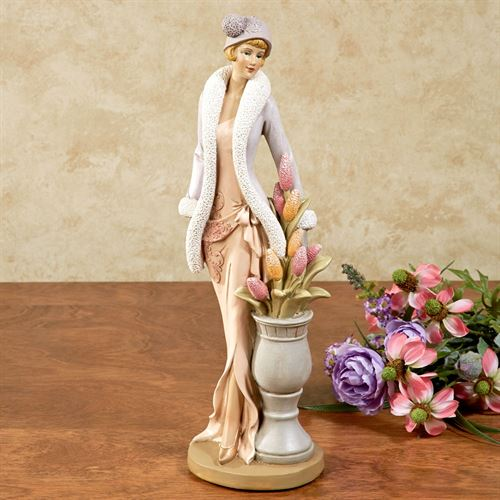 Victorian Elegance Figurine Multi Pastel