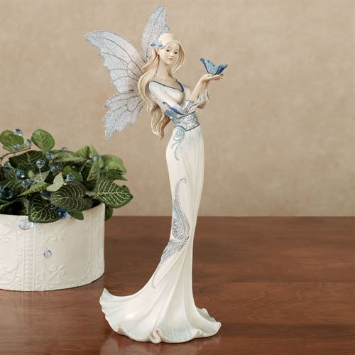 Butterfly Blessing Figurine Blue