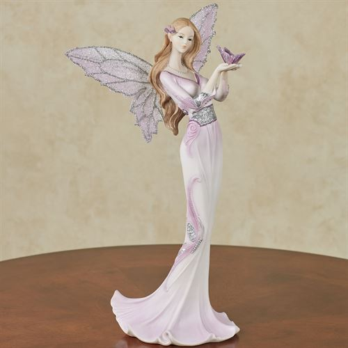Butterfly Blessing Figurine Purple