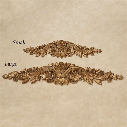 Flowering Medallion Decorative Wall Topper