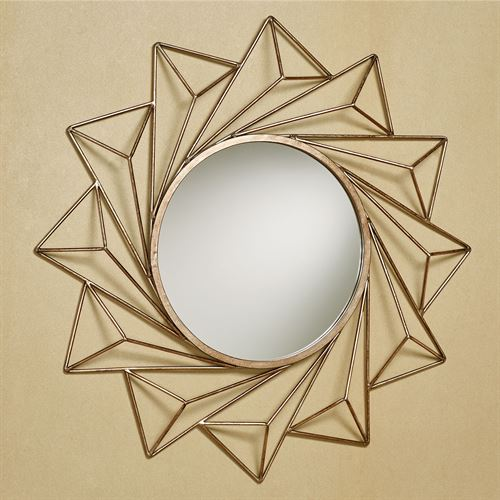 Convergence Wall Mirror Rose Gold