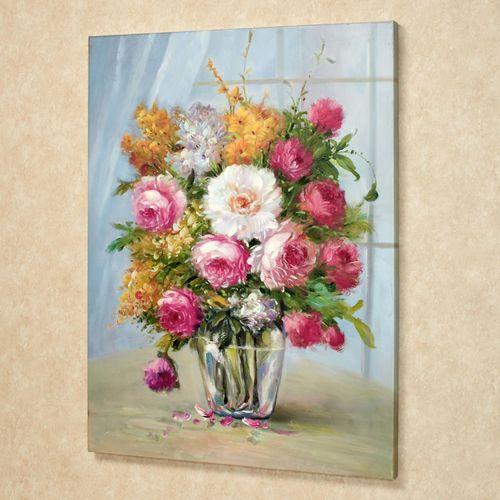 Blooming Bouquet Canvas Art Multi Pastel