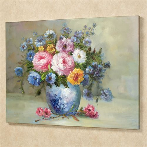 Floral Harmony Canvas Art Multi Bright
