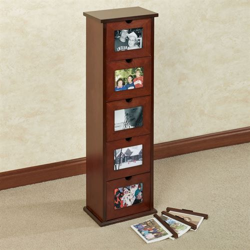 Larimore Photo Cabinet Classic Cherry