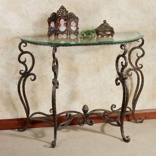 Anacapri Console Table Bronze