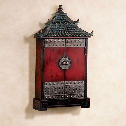 Oriental Pagoda Key Cabine