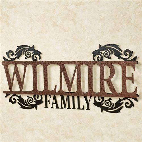 Legacy FAMILY Personalized Metal Wall Art Sign Family