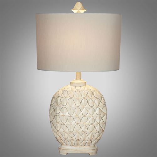Exceptionnel Marrakesh Weave Table Lamp Light Cream