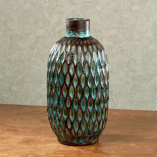 Rhodania Vase Teal Large