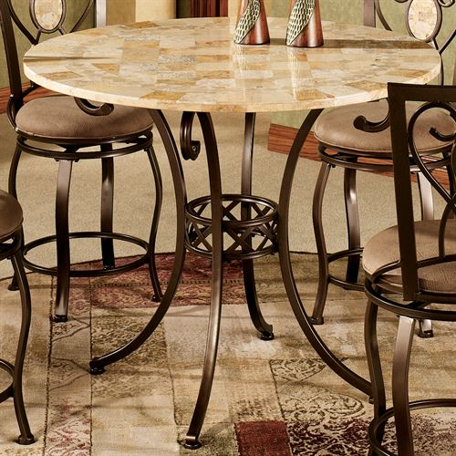 Eastbrook Round Counter Height Bistro Table