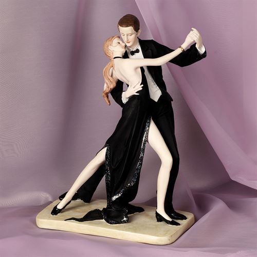 Midnight Waltz Table Sculpture