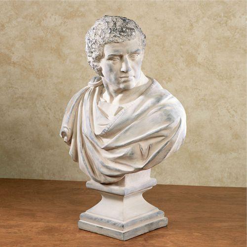 Historical Napoleon Bonaparte Bust Desert Sand