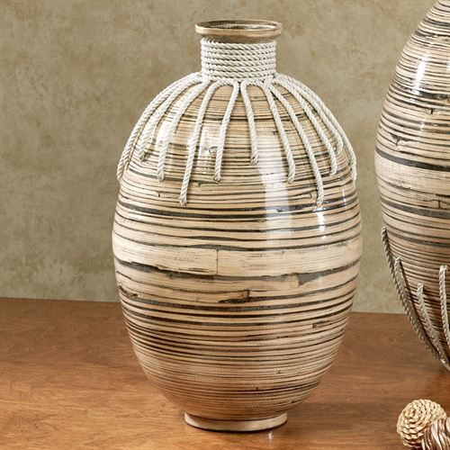 Tut Small Decorative Bamboo Vase