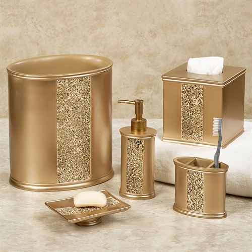 Prestigue Lotion Soap Dispenser Champagne Gold