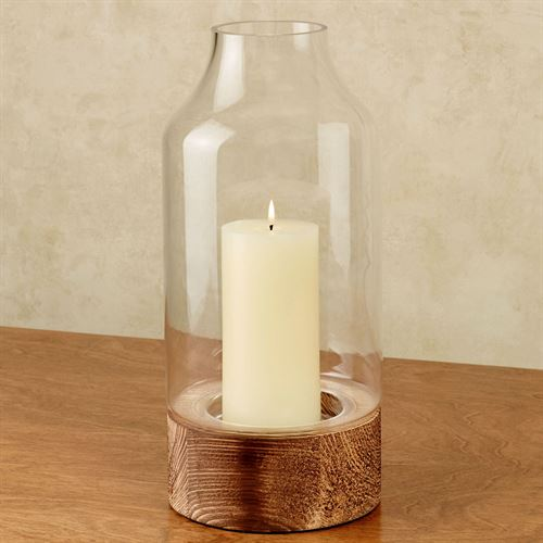 Bionca Hurricane Candleholder Clear