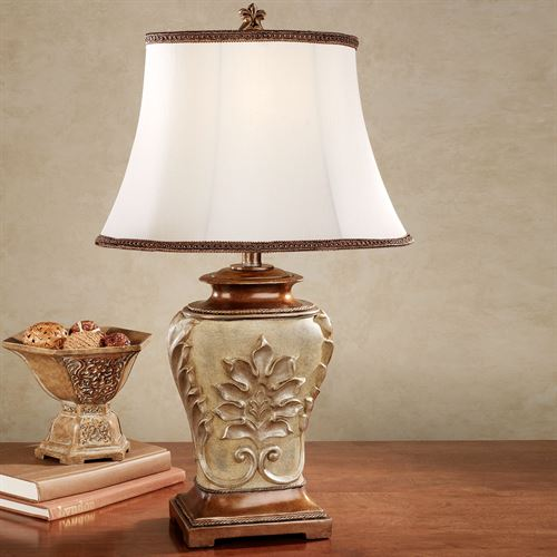 Gwenith Mae Table Lamp Creamy Gold