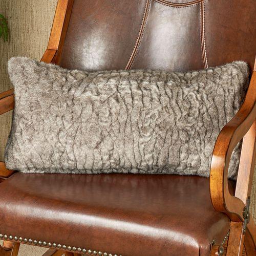 Dakota Bolster Pillow Gray