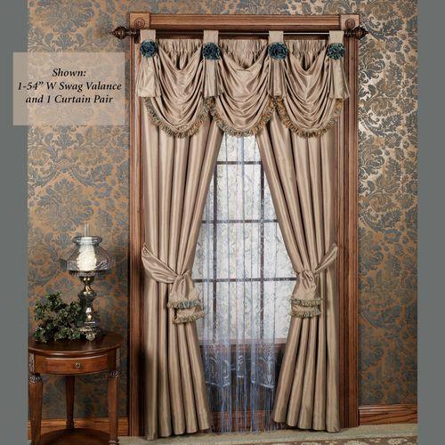 Royale Tailored Curtain Pair