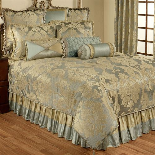 Duchess Comforter Set Seafoam