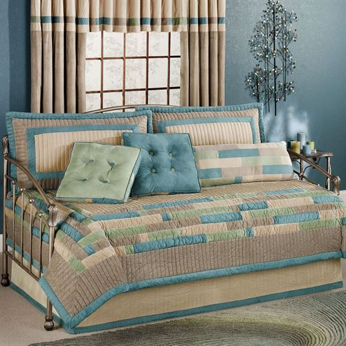 Beautiful Synergy Daybed Coverlet Set Fawn Daybed