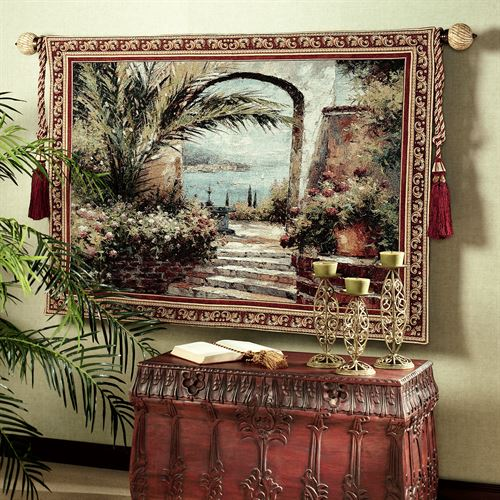 Rose Arch Wall Tapestry