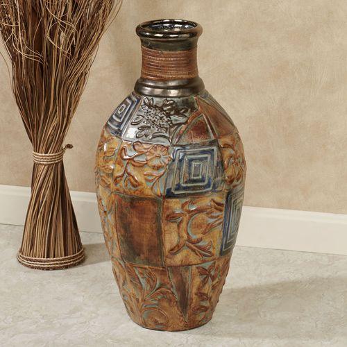 Grayling Floor Vase Multi Earth
