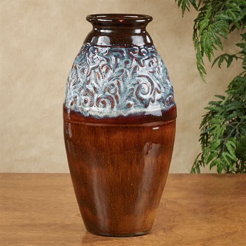 Tempest Vase Multi Earth