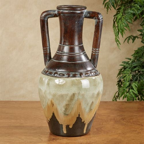 Ceylon Decorative Vase Multi Earth