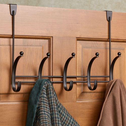 Bryony Overdoor Hook Rack 5 Hook