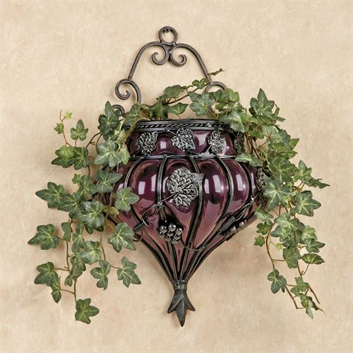 Grape Wall Vase