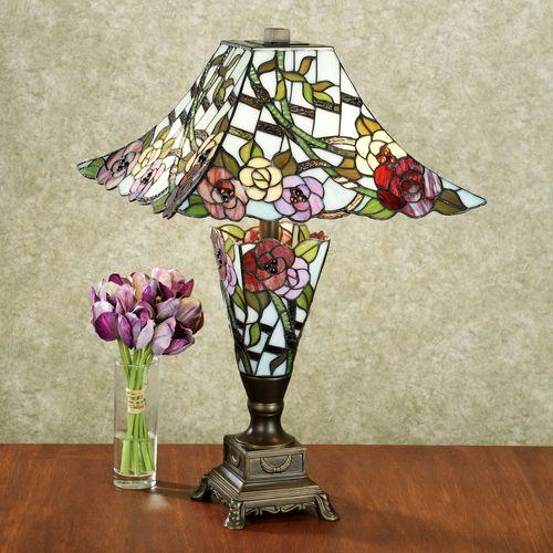 Haleys Garden Table Lamp Pink