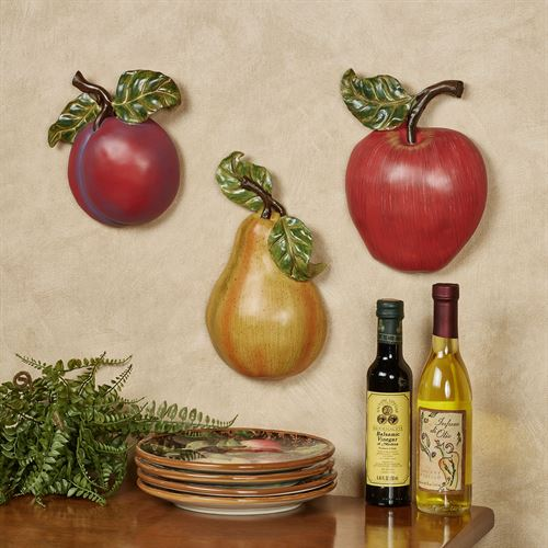 Luscious Fruit Wall Accent  Set of Three