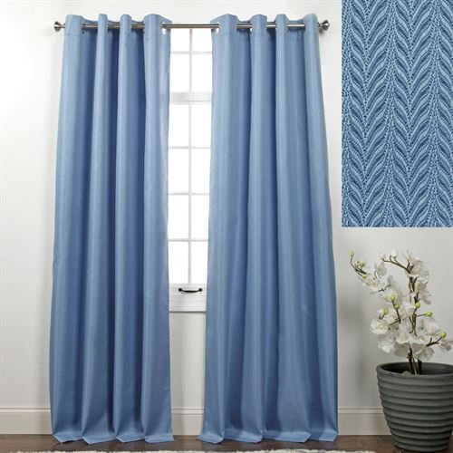 Memento Grommet Curtain Panel