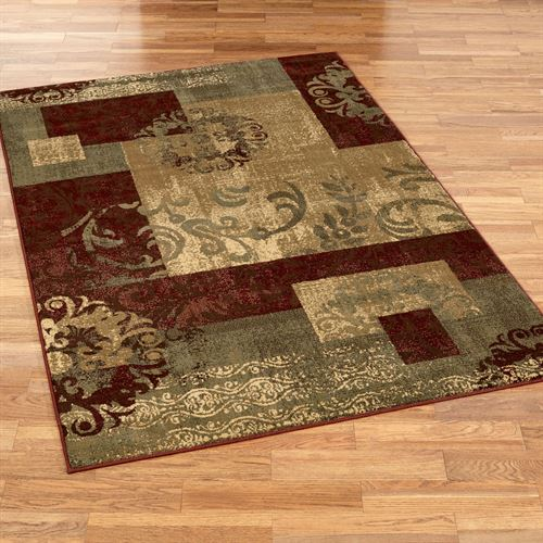 Madox Rectangle Rug Multi Jewel