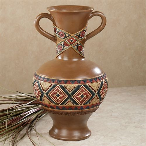 Tribal Spirit Table Vase Multi Earth