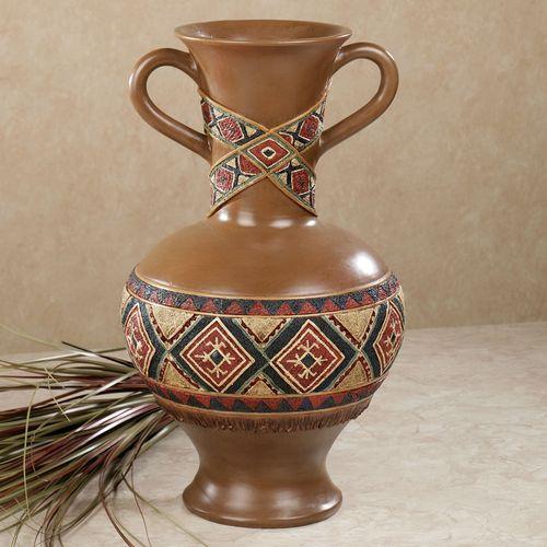 Tribal Spirit Table Vase Multi Earth
