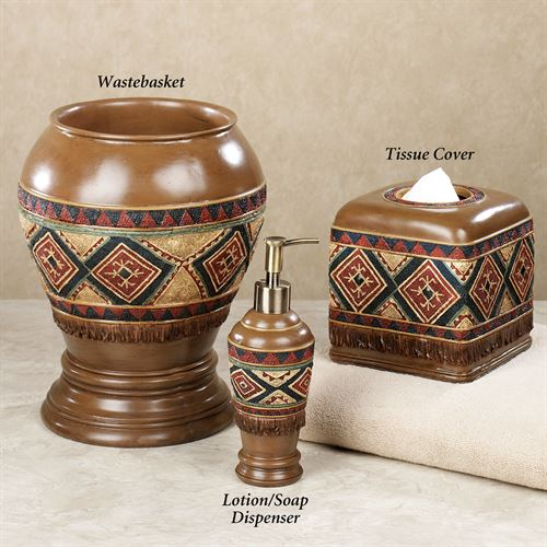 Tribal Spirit Lotion Soap Dispenser Multi Earth