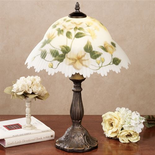 Calista Table Lamp with CFL Bulb Taupe/Cream Each with CFL Bulb