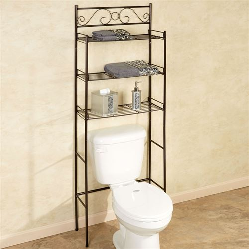 Scroll Bathroom Space Saver Oil Rubbed Bronze