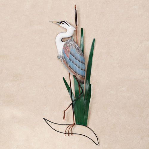 Blue Heron Head Up Wall Art Multi Cool