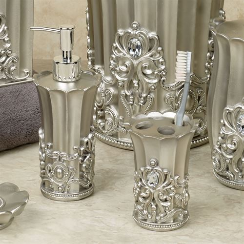 Fatima Lotion Soap Dispenser Pewter