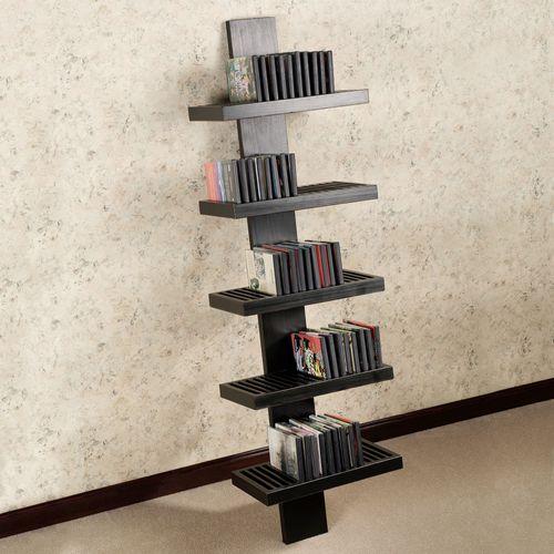Layne Ladder Media Storage Rack