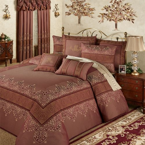 Eastleigh Grande Bedspread Ruby